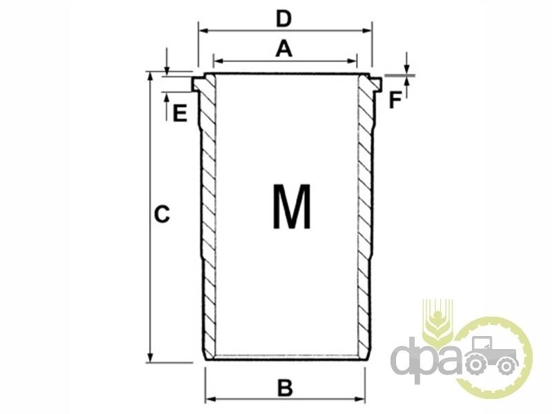 Camasa motor f  Case IH 3144682R3