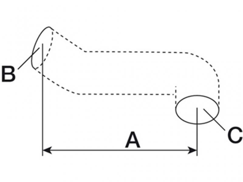 Furtun filtru aer  Fiat 4996490