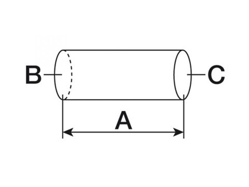 Furtun inferior radiator  Case IH 3057428R1