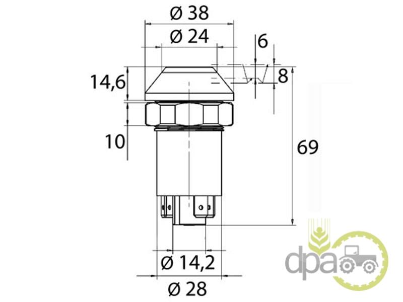 Intrerupator lumini  Deutz 01177162