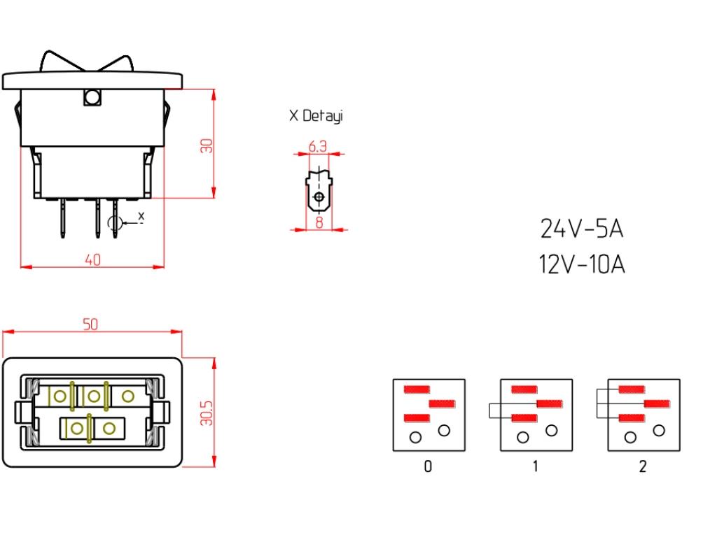 Intrerupator lumini  11-005