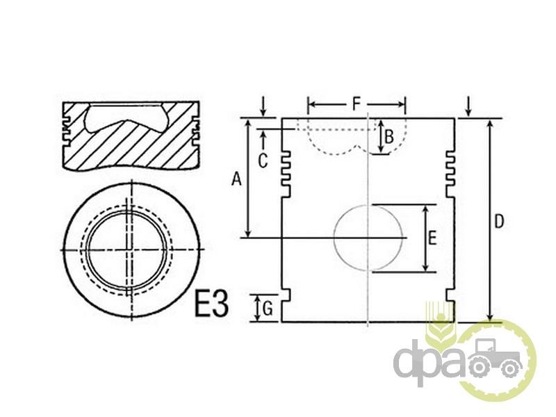 Piston motor  John Deere AR78310