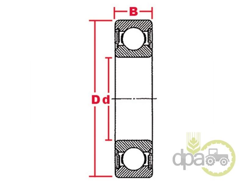 Rulment presiune ambreiaj  Deutz 01101461