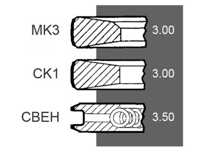 Segmenti motor  Deutz 04158393