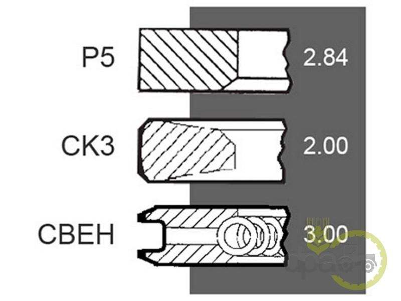 Segmenti motor  Deutz 04800467