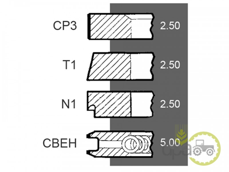 Segmenti motor r1  Same 0.042.0053.6
