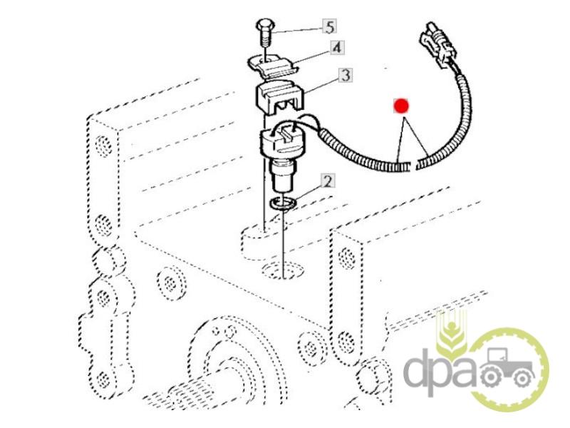 Senzor viteza priza putere  John Deere RE12180