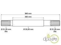 Massey Ferguson-Axe transmisie-AX CARDAN