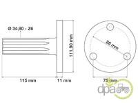 Fiat-Axe priza putere-AX PRIZA PUTERE