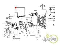 New Holland-Axe priza putere-AX PRIZA PUTERE