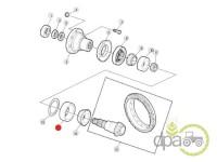 John Deere-Rulmenti transmisie-CAMASA RULMENT GRUP CONIC FATA