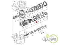 John Deere-Garnituri transmisie-ORING AMBREIAJ PUNTE FATA