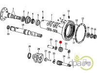 John Deere-Pinioane reductor-PINION SATELIT SPATE