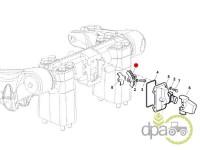 John Deere-Alte piese sistem ridicare hidraulica-PINION SENZOR POZITIE RIDICARE HIDRAULICA