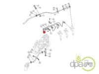 John Deere-Alte piese sistem alimentare-PIULITA CLEMA CONDUCTA COMBUSTIBIL