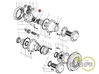 Massey Ferguson-Sigurante reductor-SIGURANTA CARCASA REDUCTOR SPATE 6.14-6.19MM
