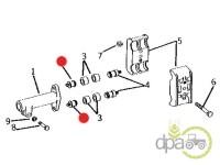 John Deere-Suruburi sistem hidraulic-SURUB CUPLAJ POMPA HIDRAULICA