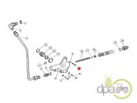 John Deere-Suruburi sistem hidraulic-SURUB SUPAPA HIDRAULICA